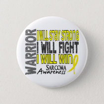 Sarcoma Warrior Pinback Button