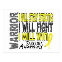 Sarcoma Warrior Postcard