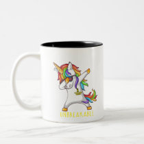 SARCOMA Warrior Unbreakable Two-Tone Coffee Mug