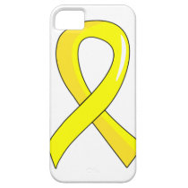 Sarcoma Yellow Ribbon 3 iPhone SE/5/5s Case