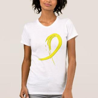 Sarcoma's Yellow Ribbon A4 T-shirts