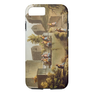 Sarcophagi and Sepulchres at the Head of the Harbo iPhone 8/7 Case