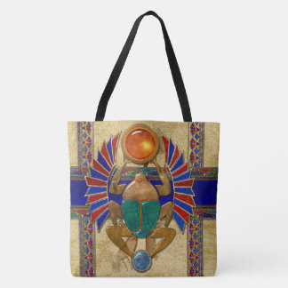 Sarcophagus 3D Egyptian Tote Bag