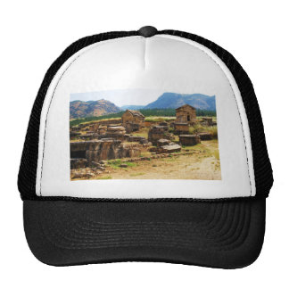 Sarcophagus and Tombs at  Necropolis  Hierapolis Trucker Hat