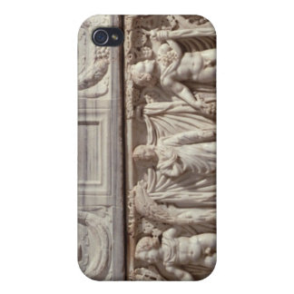 Sarcophagus depicting the deceased cover for iPhone 4