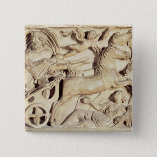 Sarcophagus depicting the Rape of Proserpine Button