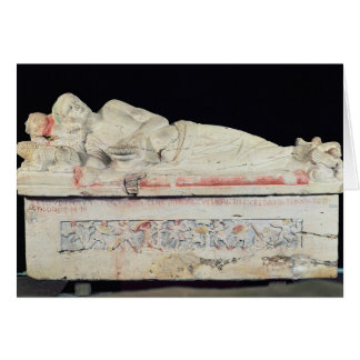 Sarcophagus, Etruscan Card