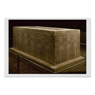 Sarcophagus from Abu Roach (limestone) (see also 3 Poster