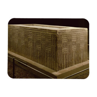 Sarcophagus from Abu Roach (limestone) (see also 3 Rectangle Magnets