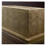 Sarcophagus from Abu Roach (limestone) (see also 3 Tile