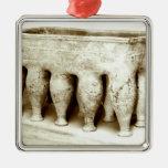 Sarcophagus Metal Ornament