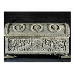 Sarcophagus of bishop Theodore Postcard