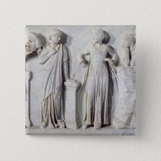 Sarcophagus of the Muses 2 Button