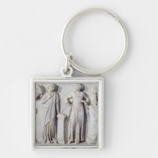 Sarcophagus of the Muses 2 Keychain
