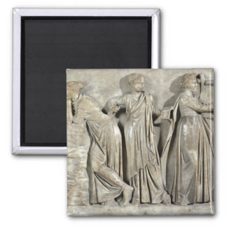 Sarcophagus of the Muses Magnet
