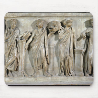 Sarcophagus of the Muses Mouse Pad