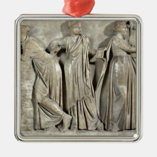 Sarcophagus of the Muses Christmas Tree Ornaments