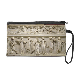 Sarcophagus of the Muses, Roman (marble) Wristlet Purse