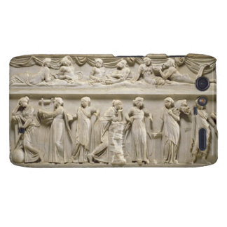 Sarcophagus of the Muses, Roman (marble) Droid RAZR Cases