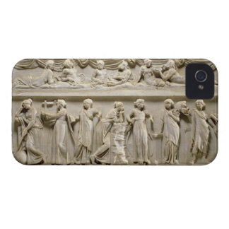Sarcophagus of the Muses, Roman (marble) iPhone 4 Cover