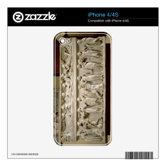 Sarcophagus of the Muses, Roman (marble) iPhone 4 Skins