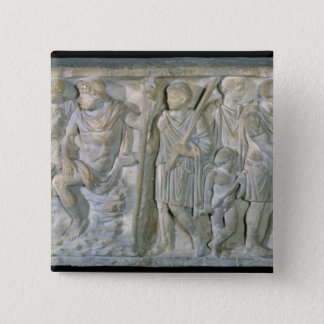 Sarcophagus Pinback Button