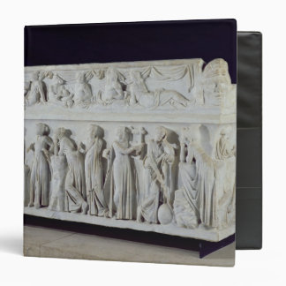 Sarcophagus with frieze of the Nine Muses 3 Ring Binder
