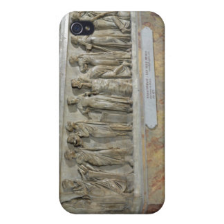 Sarcophagus with frieze of the Nine Muses iPhone 4/4S Case