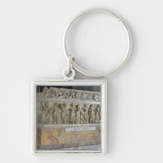 Sarcophagus with frieze of the Nine Muses Keychain