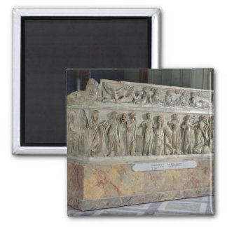 Sarcophagus with frieze of the Nine Muses Magnet