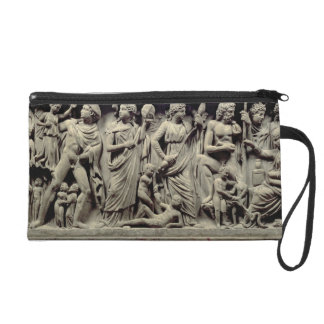 Sarcophagus with relief depicting Prometheus and t Wristlet Purse