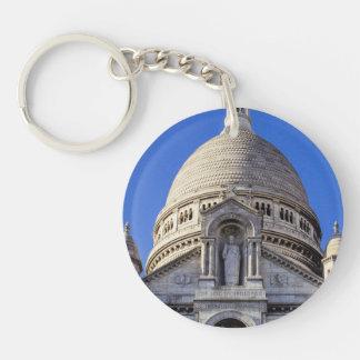 Sarcre Coeur Basilica In Paris, France Keychain