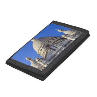 Sarcre Coeur Basilica In Paris, France Trifold Wallets