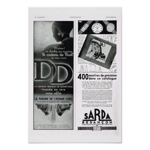 Sarda Besançon Posters