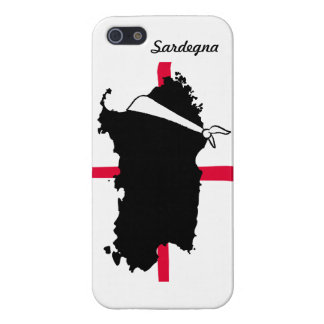 Sardegna blinffolded iPhone 5 carcasas
