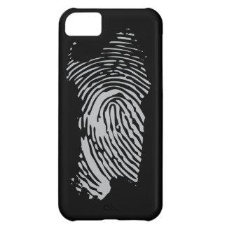 Sardegna, nera del impronta funda iPhone 5C