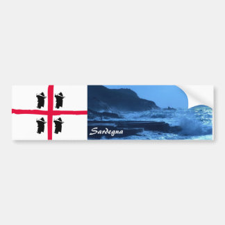 Sardegna Paradise Sticker 2 Car Bumper Sticker