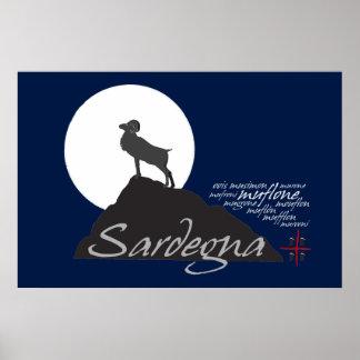 Sardegna, rey de la colina (poster) póster