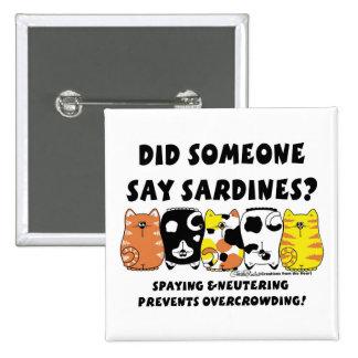 Sardine Cats Pin
