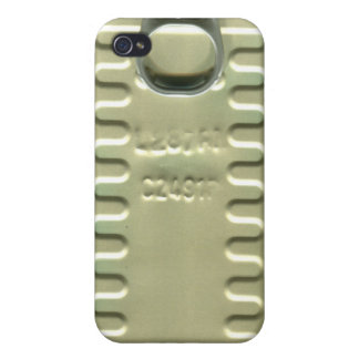 sardine oil can iphone iPhone 4 cover