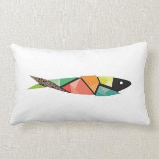 Sardine Portugal Lumbar Pillow