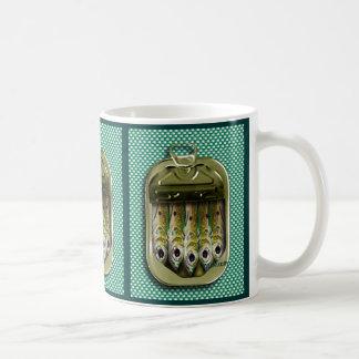 sardine tin coffee mug