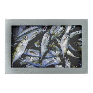 Sardines Rectangular Belt Buckles