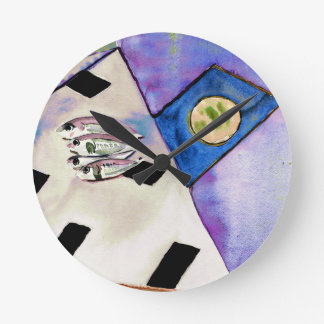 Sardines Clock