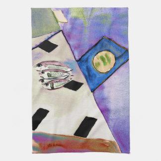 Sardines Kitchen towel