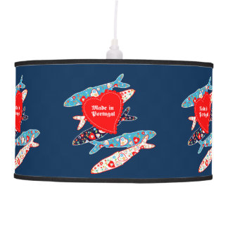 Sardines made in Portugal Ceiling Lamp