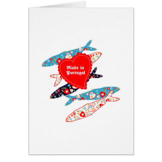 Sardines made in Portugal Greeting Card
