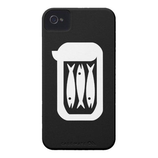 Sardines Pictogram iPhone 4 Case