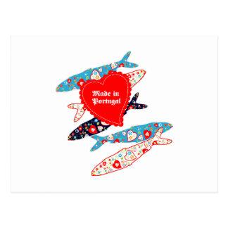 sardines postcard