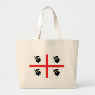 Sardinia Flag Large Tote Bag